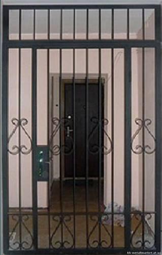 купить и установить решетчатые металлические двери в москве